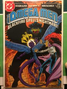 The Omega Men #11 Blackfire spells nightmare!