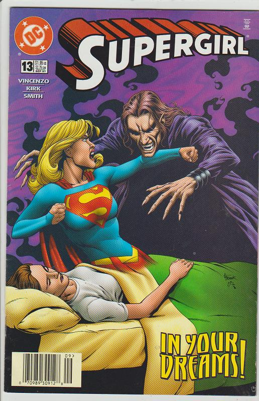SUPERGIRL #13 - DC COMIC - SUPERMAN FAMILY - 1997 - BAGGED AND BOARDED