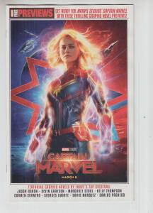 CAPTAIN MARVEL START HERE SAMPLER 2019 (2019 Marvel) #1 Previews March Movie