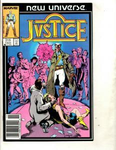 Lot of 11 Justice Marvel Comic Books 1 2 3 4 5 6 7 8 9 11 18 Marvel Boy DS2