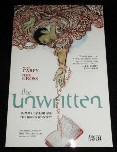 The Unwritten TPB Tommy Taylor and the Bogus Identity (DC, 2010) - New!