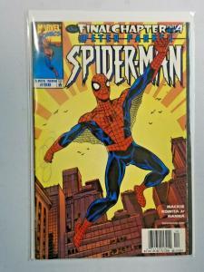 Spider-Man #98 last issue water damage 4.0 VG (1998)