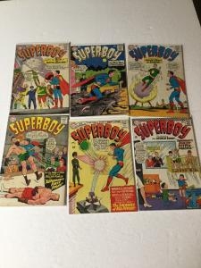 Superboy 114 116 121 124 125 133 Vg- Or Better Silver Age