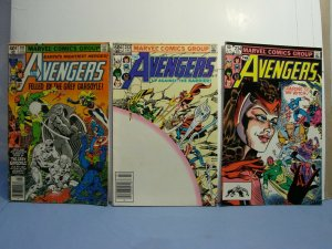 Marvel Comics Avengers Silver Bronze Age LOT 18 BOOKS Key 78 113 181 239 +++