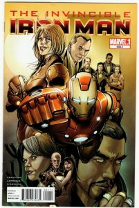 Invincible Iron Man #500.1 (VF-/VF) ID#MBX1
