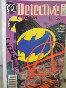 Detective  Comics 608 in F/VF  condition.Unread. 1989. 1st appearance of Anarky!