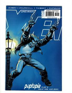 Lot of 11 Uncanny X-Men Comics #395 395 396 397 398 399 400 401 402 403 404 SM15