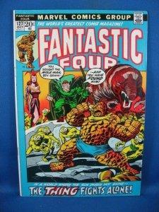 Fantastic Four #127 (Oct 1972, Marvel) F+