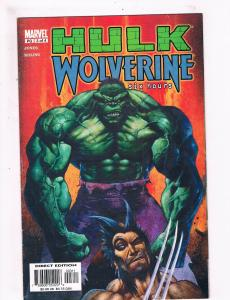 Incredible Hulk & Wolverine Six Hours # 3 Marvel Comic Books X-Men Avengers! SW7