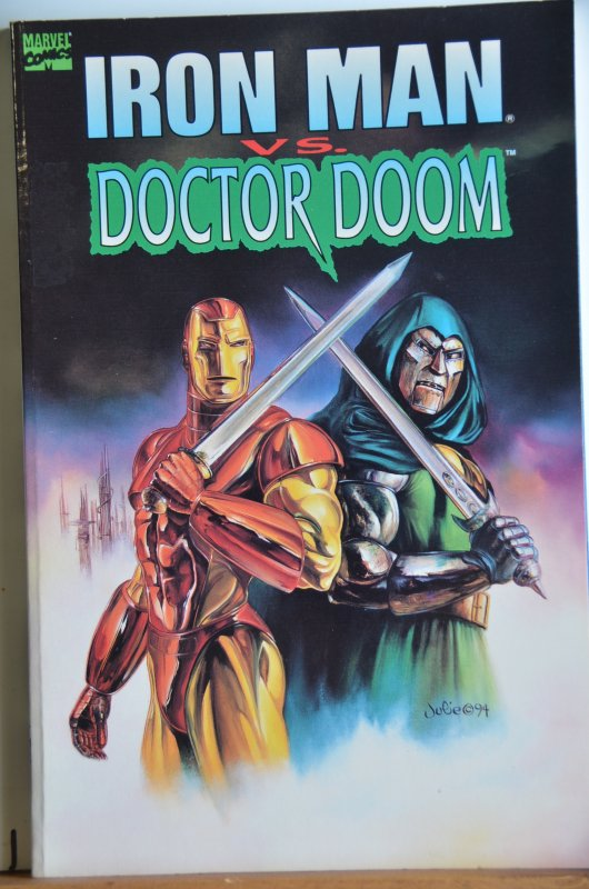 Ironman VS Doctor Doom TPB, Great Story!!