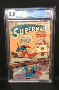Superman #123 (DC, 1958) CGC 5.0