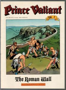 Prince Valiant #7 1990-Fantagraphics-color reprint-Hal Foster-Roman Wall-VF
