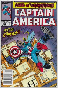 Captain America   vol. 1   #366 FN (Acts of Vengeance)