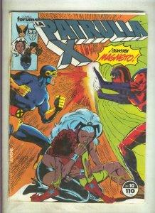 La Patrulla X volumen 1 numero 010: Y los muertos (numerado 3 en trasera)