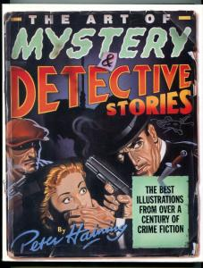 Art of Mystery and Detective Stories Hardcover pulp 1986