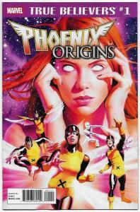 True Believers Phoenix Origins #1 (Marvel, 2018) NM