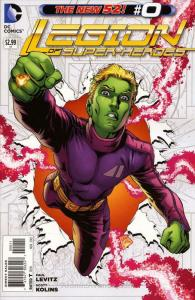 Legion of Super-Heroes (7th Series) #0 VF/NM; DC | save on shipping - details in