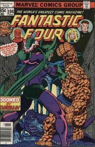 Marvel FANTASTIC FOUR (1961 Series) #194 VF