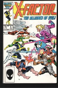 X-FACTOR 5 NM++ 9.6;1st cameo  Apocalypse;1st Team Alliance Of Evil