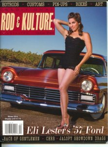 Traditional Rod & Kulture Illustrated #40 Winter 2014-hot rods-pin-up girls-c...