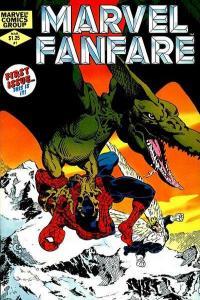 Marvel Fanfare (1982 series) #1, NM- (Stock photo)