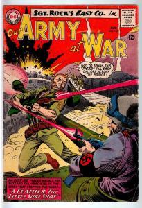 OUR ARMY AT WAR #145 1964-DC WAR COMIC-SGT. ROCK-VG VG