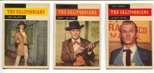 The Californians Western TV Series Trading Card Set 1958-Dick Coogan