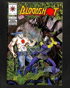 Bloodshot #7 1st Ninjak in Costume!