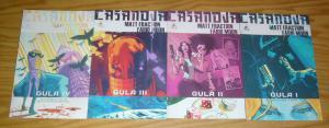 Casanova: Gula #1-4 FN/VF complete series - matt fraction - fabio moon 2 3 set