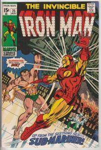 Iron Man #25 (May-70) NM- High-Grade Iron Man