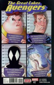 Great Lakes Avengers #2 VF/NM; Marvel | save on shipping - details inside