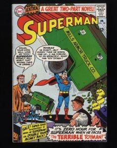 Superman #182 VG 4.0