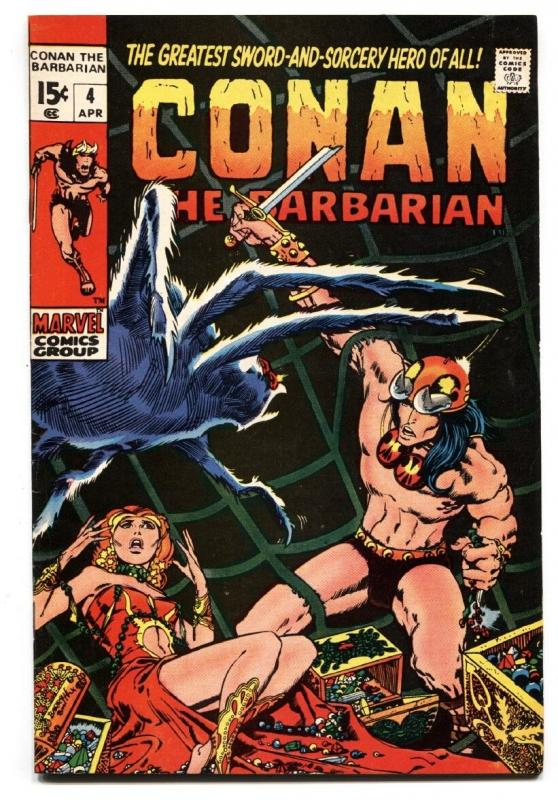 Conan The Barbarian #4 1971-Barry Smith VF/NM Marvel
