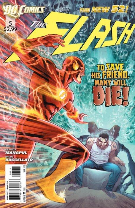 The Flash #5 (VF/NM) 2012 DC Comics ID#000