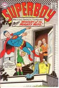 SUPERBOY 137 VG+  April 1967 COMICS BOOK