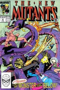 New Mutants (1983 series) #76, VF (Stock photo)