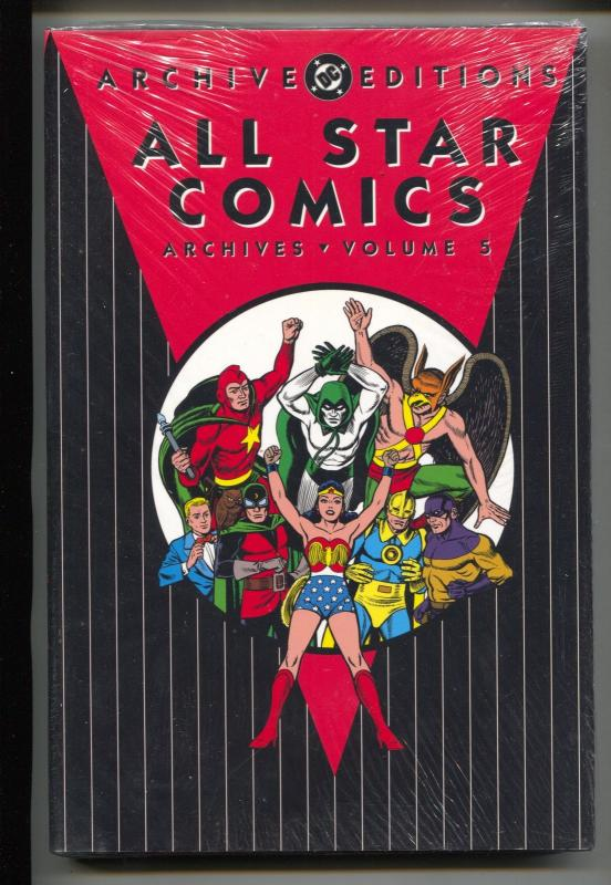 All Star Comics Archives-Vol 5-#19-23-Color-Hardcover
