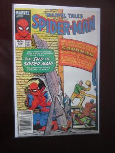 Marvel Tales #156 Newsstand - Spiderman - 4.0 water damage - 1983