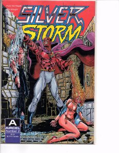 Aircel Comics Silver Storm #2 and Eternity Comics White Devil #4