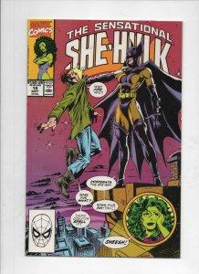 SHE-HULK #19 VF+,  Sensational, Nosferata, 1989 1990, more Marvel in store