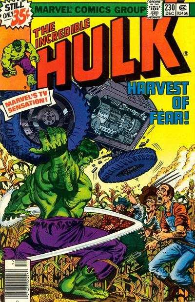 Incredible Hulk (1968 series) #230, VG (Stock photo)
