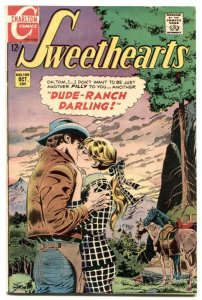 Sweethearts #100 1968- DUDE RANCH DARLING- Charlton Romance VF