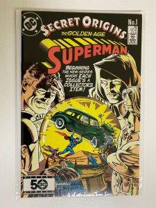 Secret Origins #1 2nd Series DC 8.5 VF+ (1986) Superman
