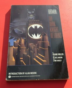 Batman The Dark Knight Returns TPB VG+ 1st Print Frank Miller Klaus Janson 1986