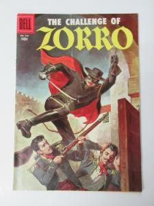THE CHALLENGE OF ZORRO #FC732 (Dell,10/1956) VERY GOOD (VG)