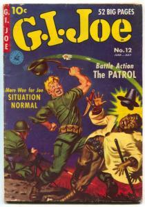 GI Joe #12 1951- Norman Saunders cover- DeCarlo art- VG/F