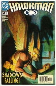 Hawkman #2 (DC, 2002) VG/FN