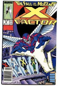 X-FACTOR #24-First ARCHANGEL!-1988 Newsstand -MARVEL- Hot Book NM-