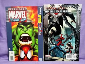 Marvel Team-Up #2 ULTIMATE SPIDER-MAN 2-Pack Spider-Man #104 (Marvel 2001, 2007)
