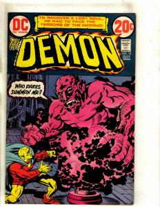 The Demon # 10 VF DC Comic Book Jack Kirby Bronze Age Etrigan Fourth World RS1